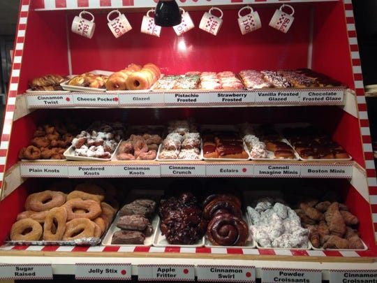 A variety of doughnuts is available at OB-CO Donuts in Toms River.