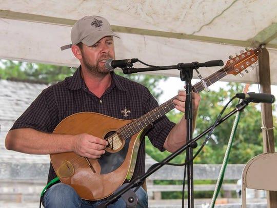 Tony Davoren, cofounder of Celtic Bayou Festival, and