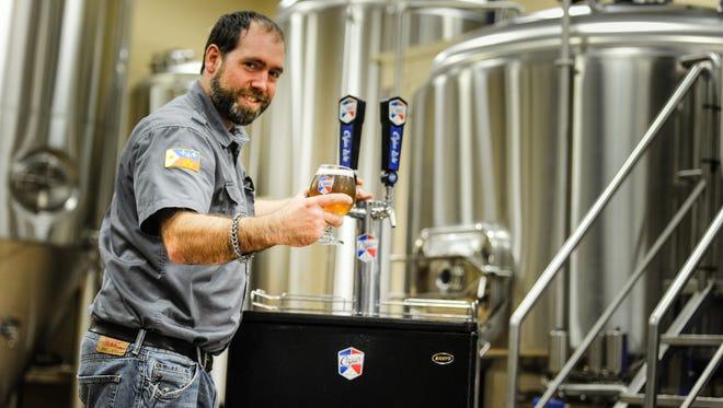 James Lutring, Brewmaster at Cajun Brewing.