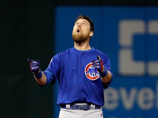 2016 - Cubs 8, Indians 7, 10 innings: Ben Zobrist drove