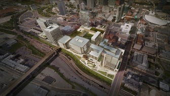 Rendering of Nashville Yards project planned for 15-acre former LifeWay campus site