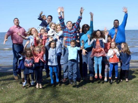 The Putman family from Michigan star in TLC's 'Meet