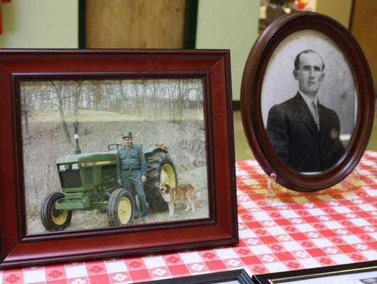 Donald Bateman, owner of the Bateman farm alongside