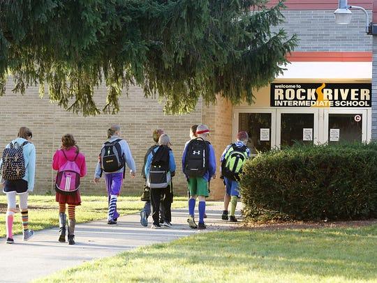 Rock River Intermediate School in Waupun received upgraded