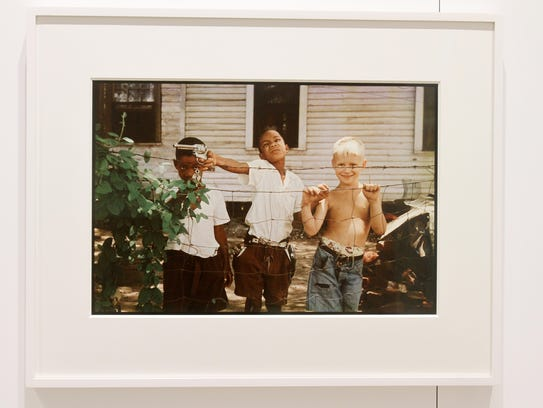 """Element"" is a new show of the photos of Gordon Parks, at the Gordon Parks Foundation in Pleasantville. The images informed a new music video by rapper Kendrick Lamar. Dec. 7, 2017."