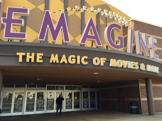 Novi's Emagine movie theater will have the area's largest screen by spring 2017.