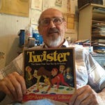 Twister inventor shares story of 'sex in a box'