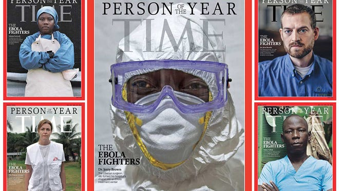 Time magazine Person of the Year - The Ebola Fighters.