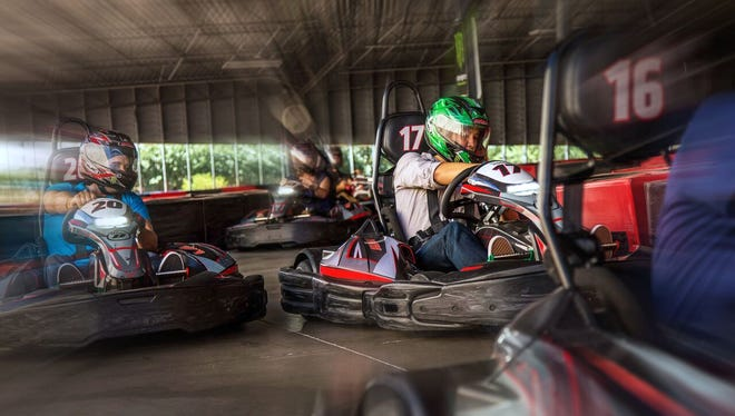 Octane Raceway in Scottsdale features a third-mile track that takes racers both inside and outside.