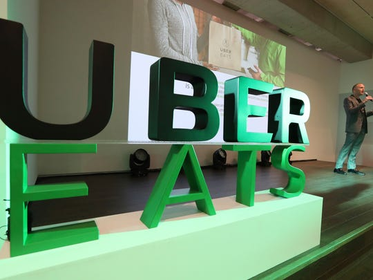 San Francisco-based Uber is expanding UberEATS service to Springfield and Columbia by the end of 2017. Allen Penn, regional general manager for APAC of UberEats, speaks to the media during a press conference in Seoul, South Korea, Thursday, Aug. 10, 2017.