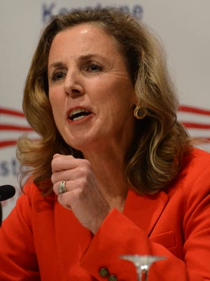 Katie McGinty, a candidate for the Democratic Party's nomination for U.S. Senate in Pennsylvania, picked up an endorsement from Sen. Bob Casey.