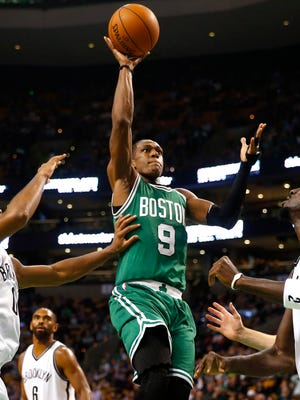 Rajon Rondo knew he'd play in the Celtics' season opener only about an hour before tip-off.