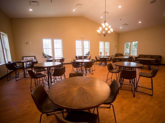 The dining room inside Knox Area Rescue Ministry's