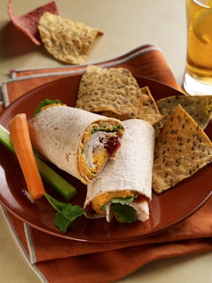 Holiday Leftover Wraps
