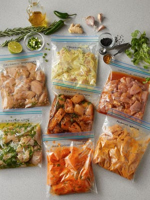 With some foresight and Kroger's easy-to-follow marinades or pre-made gourmet sauces, meal prep is a snap.