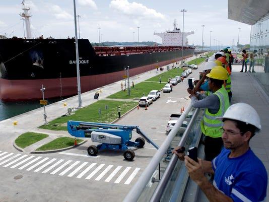 AP PANAMA CANAL EXPANSION I PAN