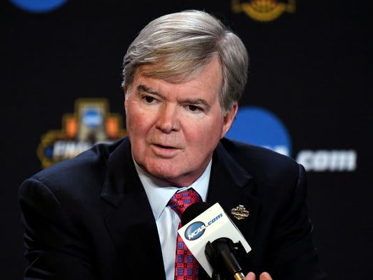 NCAA Basketball: Final Four-NCAA President Mark Emmert Press Conference