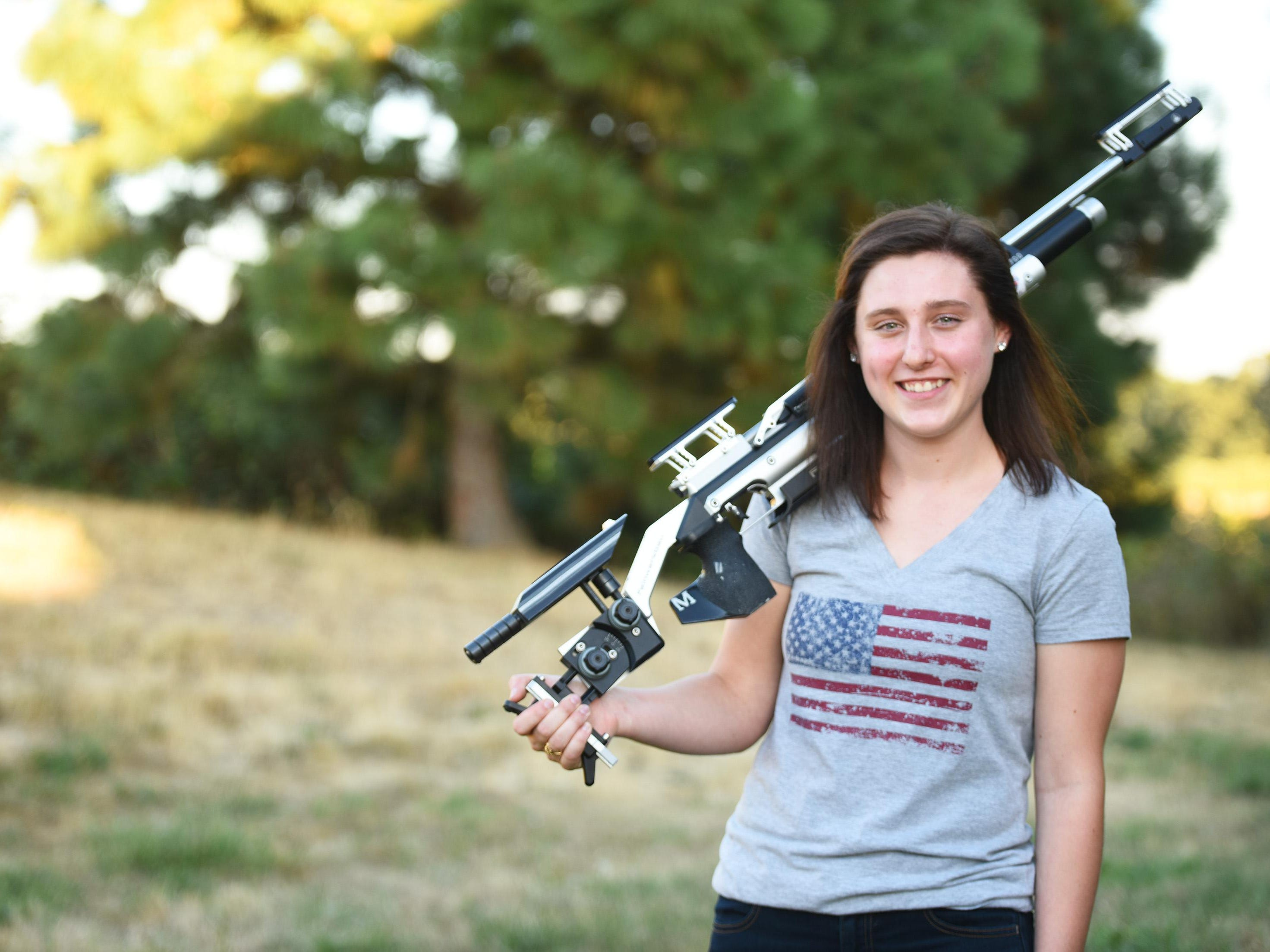 In August, Silverton High School junior Emily Cock competed as a precision rifle shooter at the sport's World Cup event in Azerbaijan.