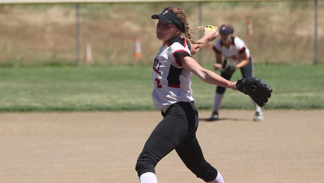 Sunshine Wehunt of Foothill is one of the reasons the Cougars are in contention for a third consecutive section title.