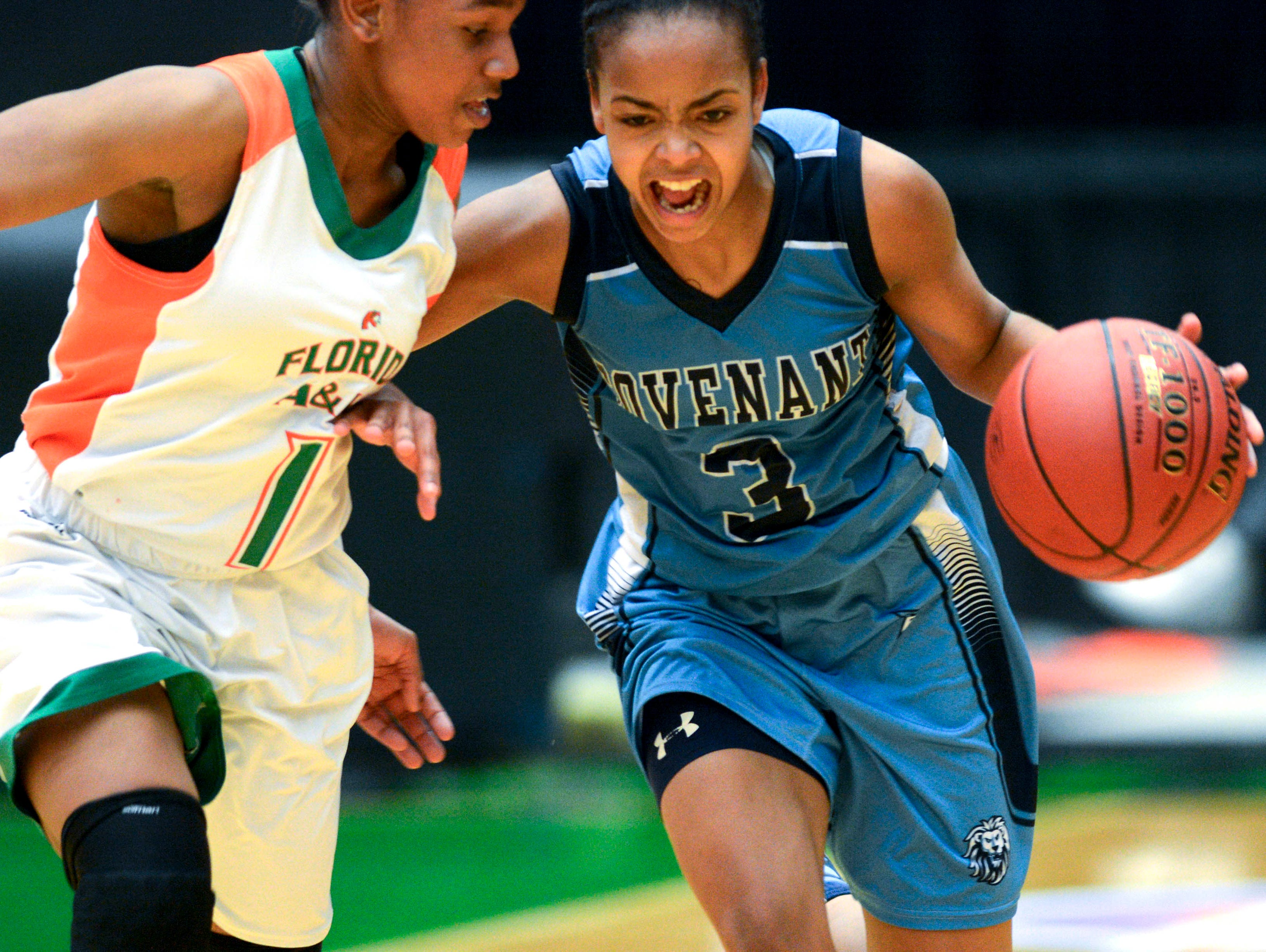 Alexis Gordon of Covenant Christian is FLORIDA TODAY's Girls Basketball Player of the Year.