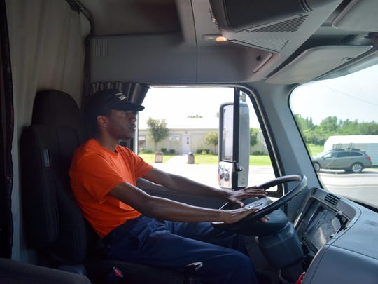Raheem Underwood from Wilmington, NC is now studying Advance Heavy Truck driving after completing the welding course.