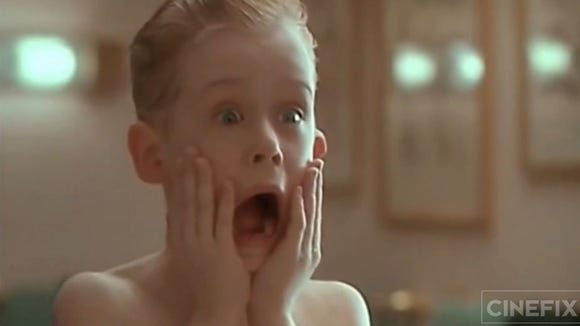 Our face when we realized 'Home Alone' is turning 25.