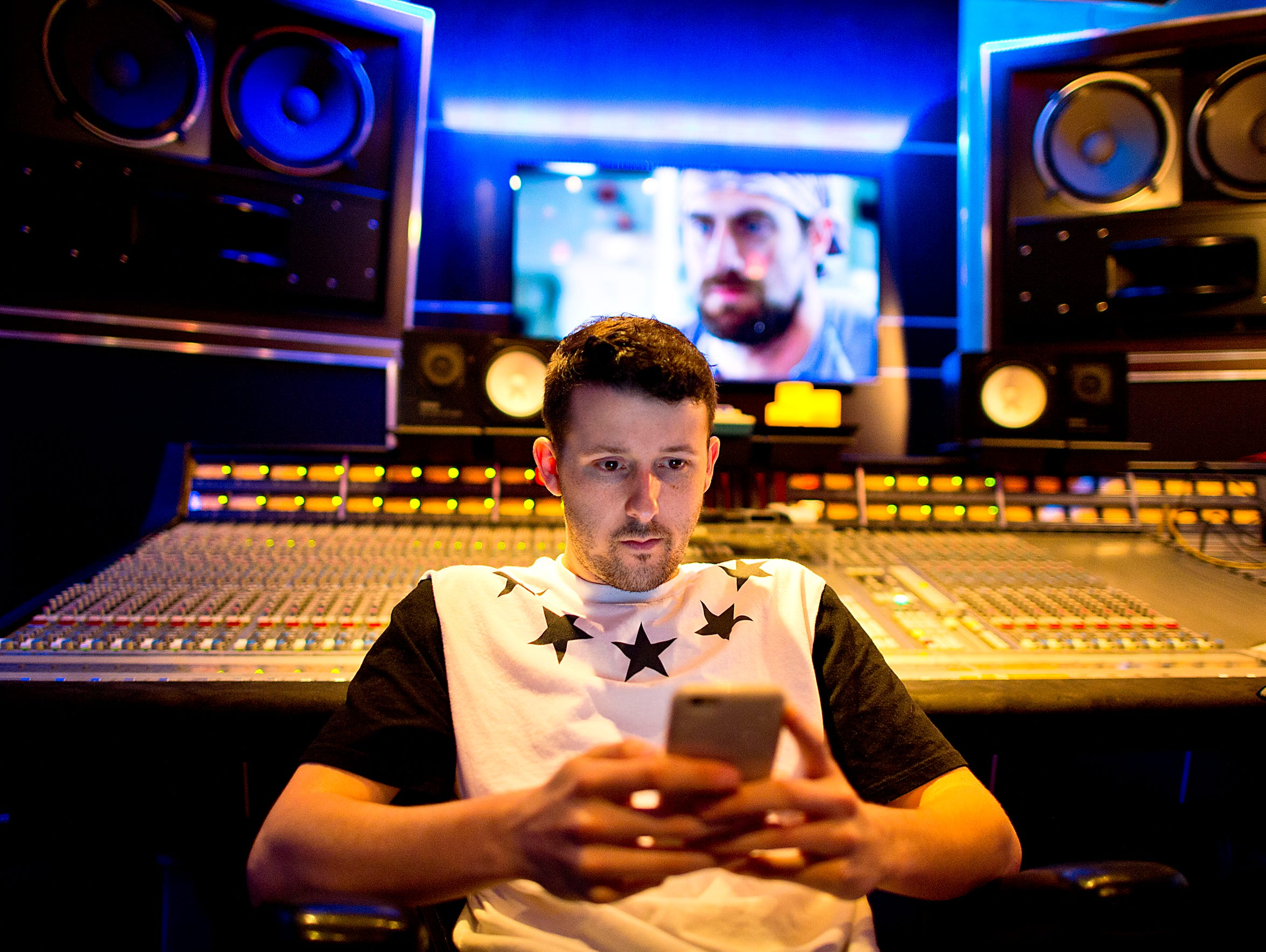 Music producer and hip-hop artist Andrew Hypes