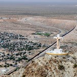 Mount Cristo Rey once a figure of peace now a symbol of struggle