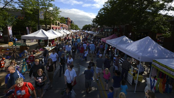 What's your favorite spot in Green Bay? One candidate could be the Farmers Market on Broadway.