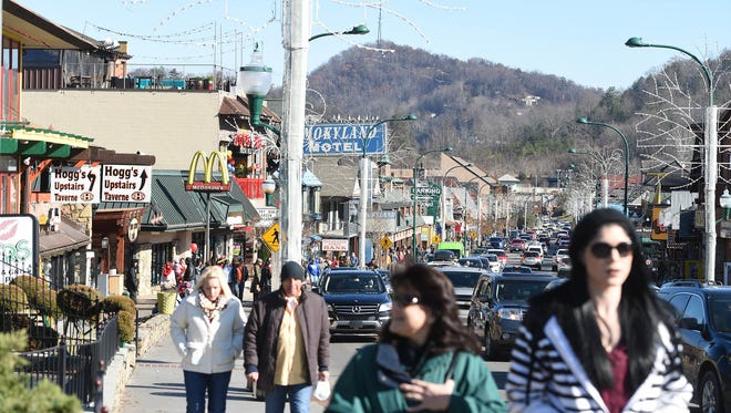 After a positive re-opening on Dec. 9, downtown Gatlinburg has been slow to recoup the normal holiday traffic.