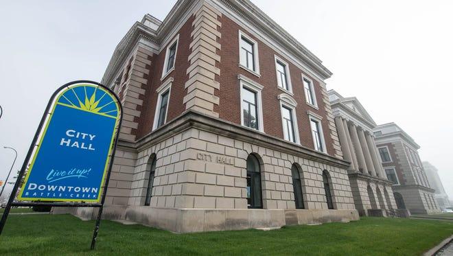 Battle Creek City Hall.