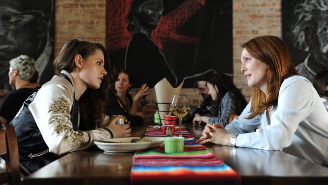 """Kristen Stewart as Lydia and Julianne Moore as Alice in """"Still Alice."""""""
