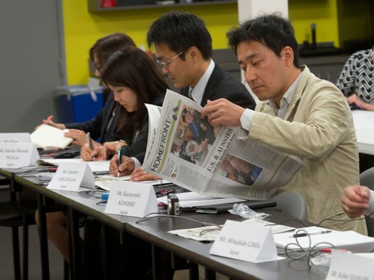 Japanese Visitors to PNJ
