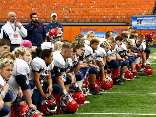 This time, things did not go Chenango Forks' way.