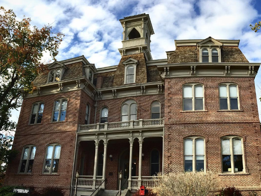 In 1886, Morrill Hall housed the entirety of the University of Nevada.