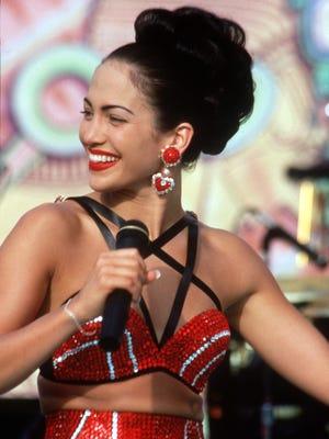 DATE TAKEN: 1997 --- Actress Jennifer Lopez portrays slain singer Selena in a film entitled Selena. ORG XMIT: UT40136
