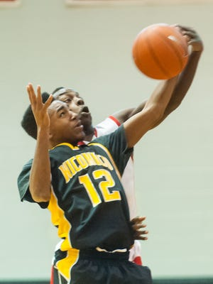 Wicomico guard Torrey Brittingham was named Bayside South boys basketball player of the year.
