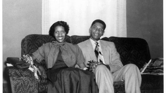 Myrlie and Medgar Evers