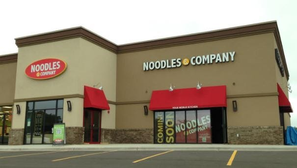 Noodles & Company plans to open Sept. 30 in eastern Sioux Falls.