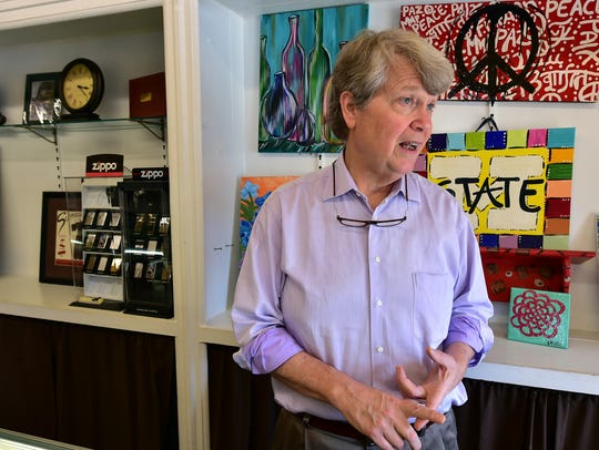 Buz McGuire, owner of McGuire's Jewelry, talks about