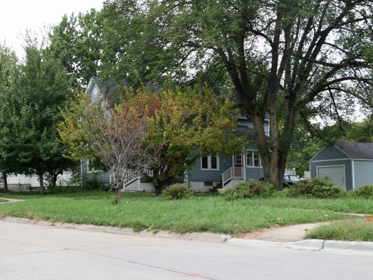 Kent Sorenson's house at 1104 E. Salem in Indianola is up for sale after it was foreclosed this month.