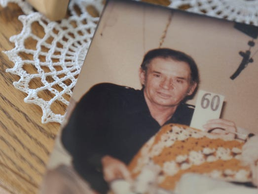 """In this undated family photograph Edwin """"Bud"""" Skalla is seen, pictured from the home of his sister Roseann Brummer on Wednesday, Jan. 29, 2014 in Logan, Iowa."""