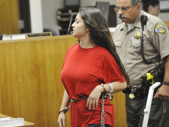 Chaylin Funez is accused of first-degree murder. Tulare