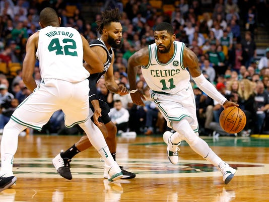 NBA: San Antonio Spurs at Boston Celtics