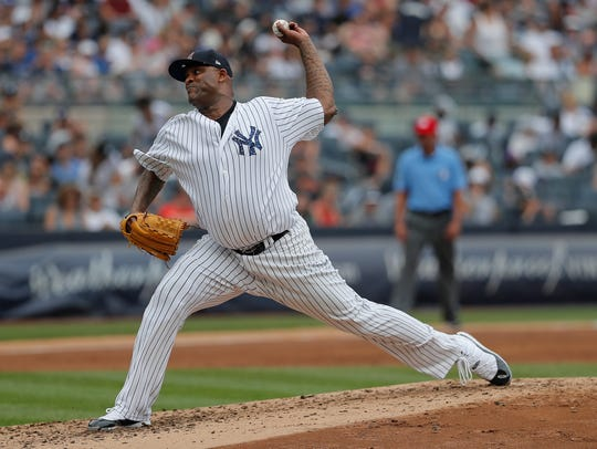 New York's CC Sabathia is a throwback to days of workhorse pitchers.