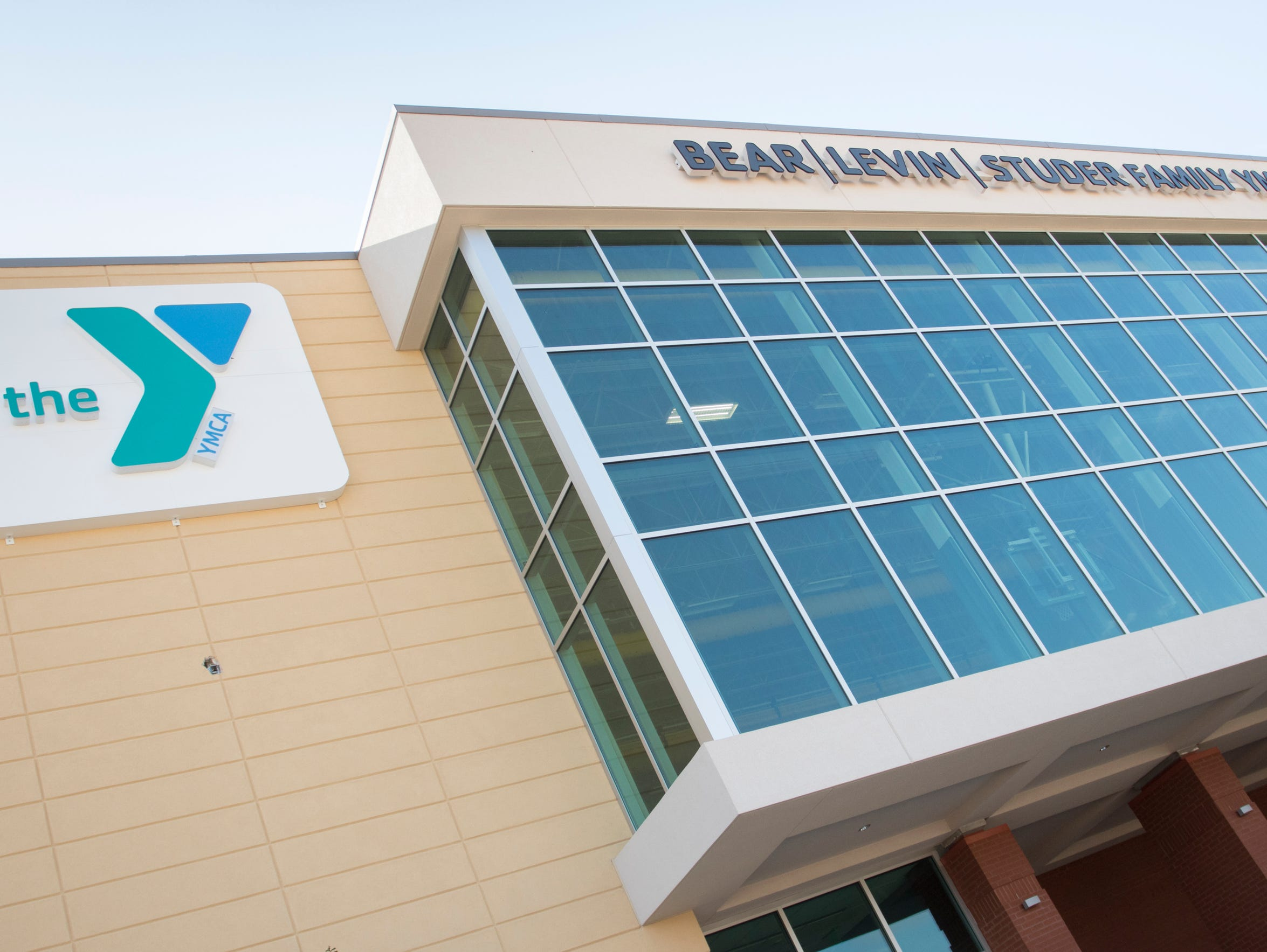 The exterior of the new Downtown YMCA in Pensacola