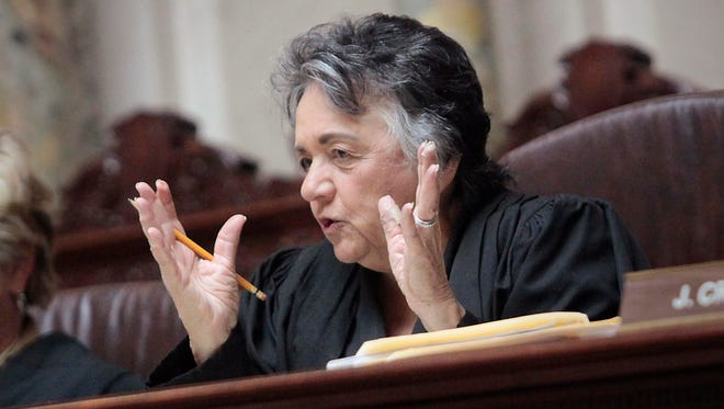 Wisconsin Supreme Court Chief Justice Shirley Abrahamson.