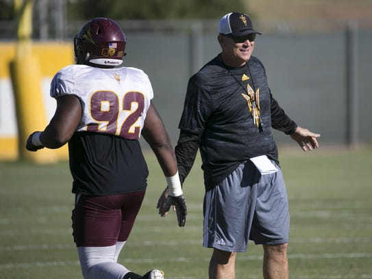 New Memphis LBs coach Keith Patterson previously served as the defensive coordinator at Arizona State.
