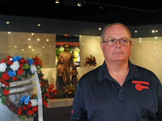 Paul Pawela, CEO of Assault Counter Tactics, and Director of Law Enforcement Training at the American Police Hall of Fame & Museum in Titusville, where several panels are etched with names of over 9,000 members of law enforcement killed in the line of duty since 1960, including some of Pawela's friends.