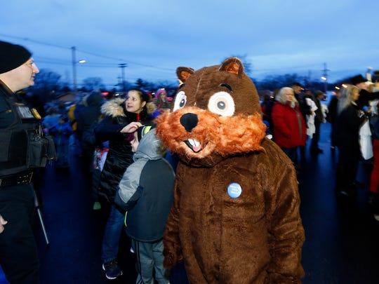 Milltown Mel again makes his annual prediction on Groundhog
